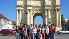 Naši studenti v Německu - Postupim, Braniborská brána