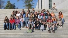Naši studenti v Německu - Berlín, Bundestag