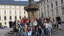 Němečtí a čeští studenti Praze