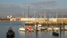 Setkání ve Španělsku (2008-09) Gijon ve dne-přístav