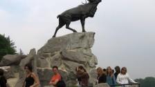 Setkání ve Francii (2006-07)  Památník padlých Kanaďanů