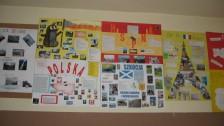 Setkání v Polsku (2007-08) Nástěnka ve škole