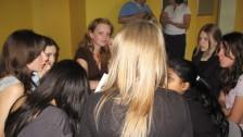 Setkání ve Francii (2006-07)  Saint Witz - práce ve skupinách