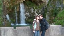 Setkání ve Španělsku (2008-09) Skalní vodopád