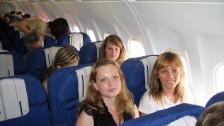 Setkání ve Francii (2006-07)  V letadle