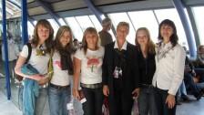 Setkání ve Francii (2006-07)  Před odletem z Paříže