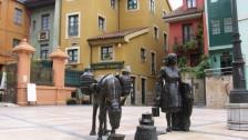 Setkání ve Španělsku (2008-09) Historická část města