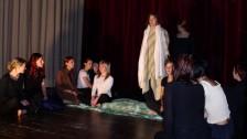 Divadelní představení studentů SŠ