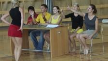 Taneční vystoupení studentů VOŠ