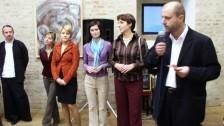 Vernisáž výstavy pedagogů VV