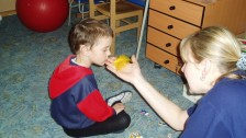 Práce s dětmi se sluchovým postižením